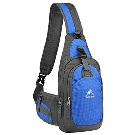 Bluelans Waterproof Bag Blue prices sports shoulder bag compare prices 1clickshop