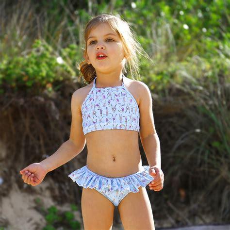 young little girls bikinis 167 miss ballerina bikini salty ink little sista