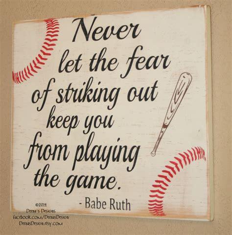 sports themed quotes baseball decor baseball sign baseball quote wooden baseball