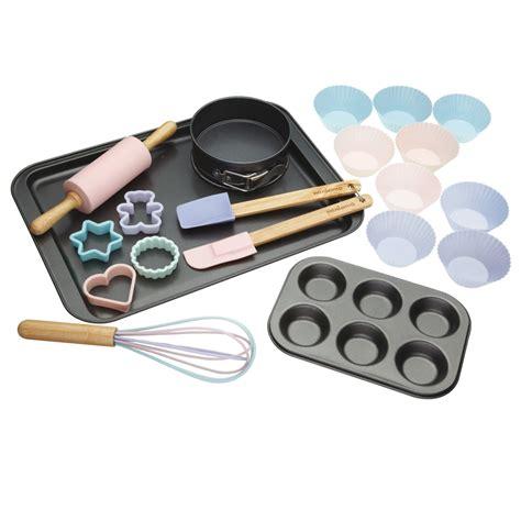 Baking Set miniamo 20 baking set pink disc make bake palmers