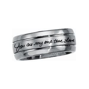 promise ring engraved ring engraved promise ring