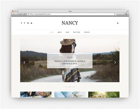 10 best fashion blog wordpress themes 2018 all template the ultimate collection of the top minimalist wordpress