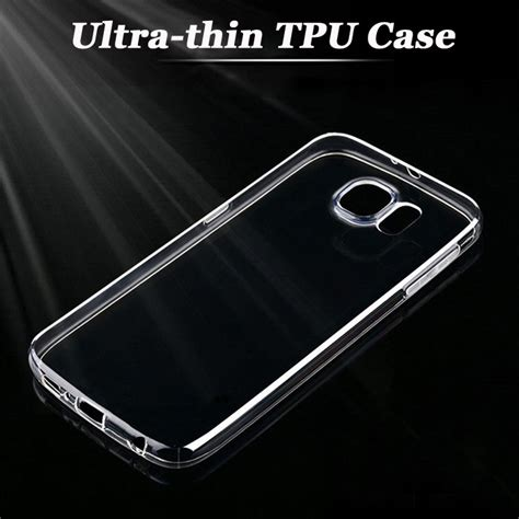ultra thin clear silicon tpu soft cover for phone samsung s3 s4 s5 s6 note 2 3 4 5 a3 a5 a7