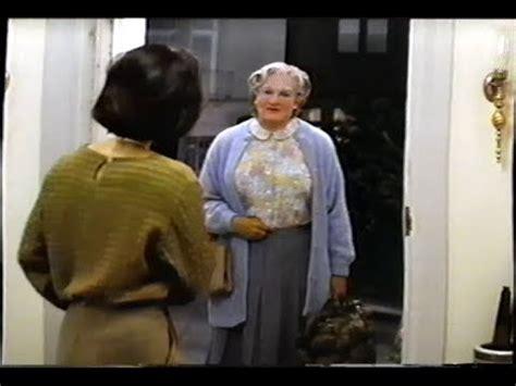Watch Mrs Doubtfire 1993 Mrs Doubtfire 1993 Trailer Vhs Capture Youtube