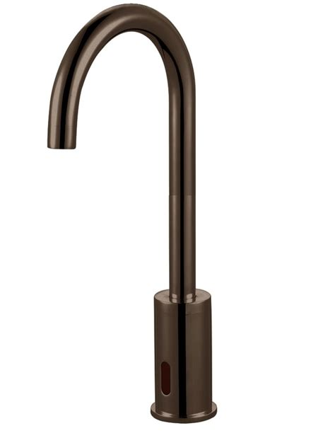 sensor kitchen faucet rubbed bronze sensor faucet bathroom and kitchen faucet