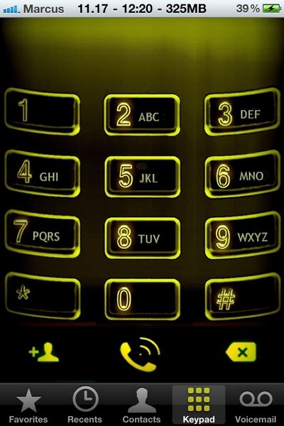 themes dialer iphone iphone dialer themes