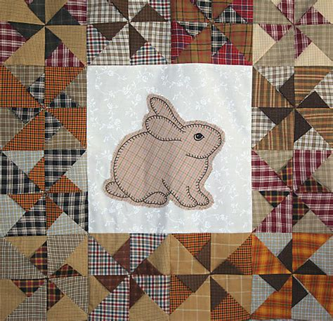 Bunny Quilt Patterns Free by Rabbit Applique Pattern