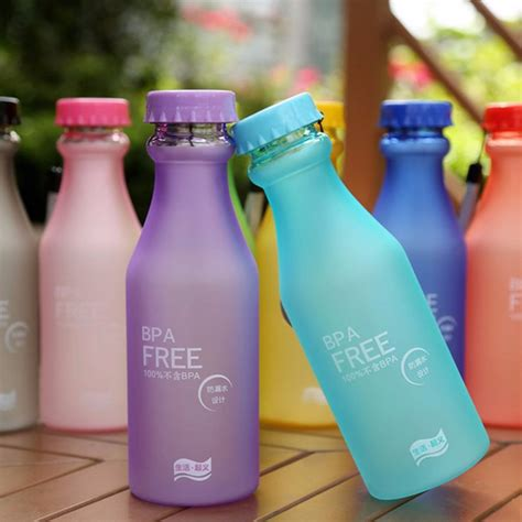 Nh Botol Air Minum Sport Bottle 500ml Blue botol minum bpa free 550ml blue jakartanotebook