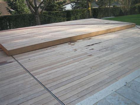 schwimmbadabdeckung begehbar pool terrassenabdeckung ber ideen zu pool terrasse auf
