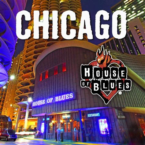 chicago house of blues house of blues chicago il gig venues performed pinterest