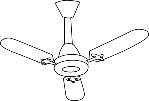 ceiling fan clipart ceiling fan outline clip at clker vector clip
