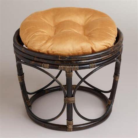porcelain micro suede papasan chair cushion world market gold micro suede papasan stool cushion world market