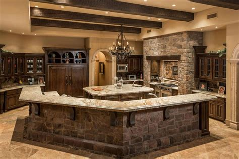 Betularie Granite Countertop Kitchen Design Ideas 35 Beautiful Rustic Kitchens Design Ideas Designing Idea