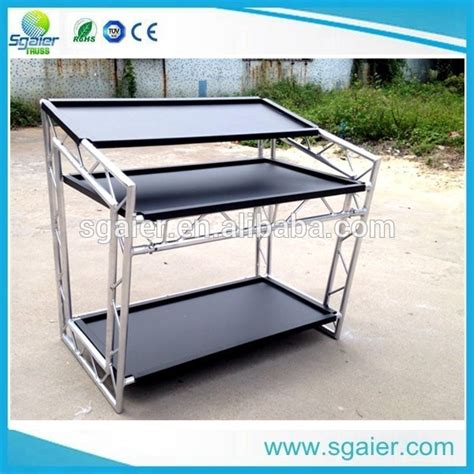 booth table for sale cheap price aluminum portable dj booth on sale mobile dj