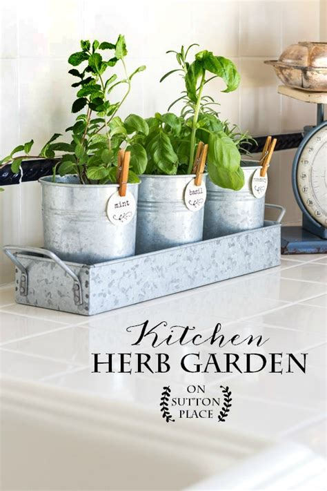 kitchen herb garden farmhouse style on sutton place
