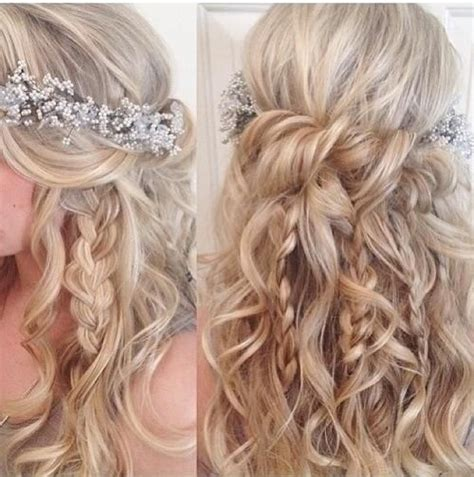 prom hairstyles bohemian prom2k16 promhairstyles prom 2016 pinterest