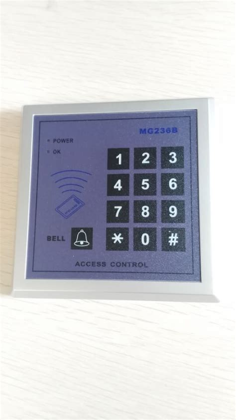 Access Solution Mg236 by Id Access Keypad Gardway Security