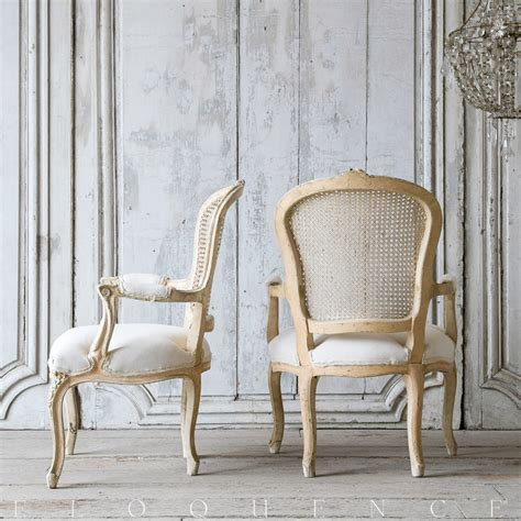cane armchairs vintage eloquence one of a kind vintage cream cane louis xv