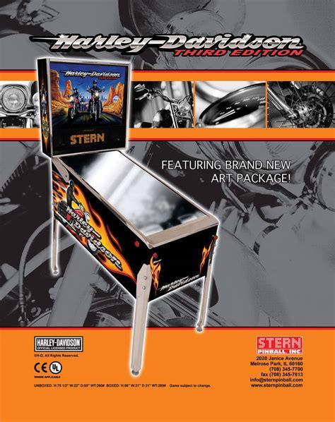 Harley Davidson Flyer harley davidson pinball for sale vintage arcade