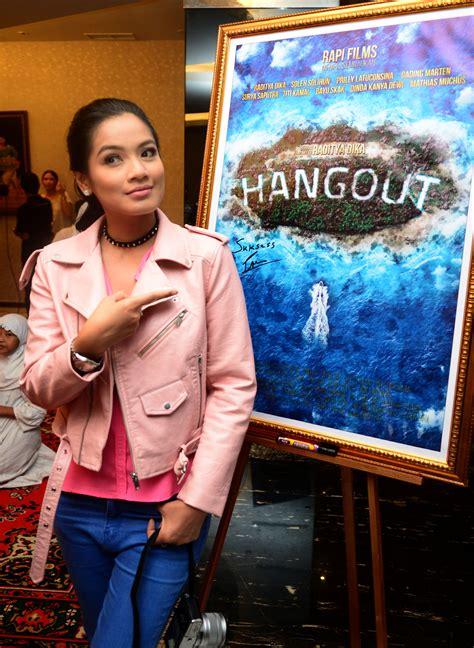 film hangout cast gara gara hangout titi kamal tak bisa ikut cast aadc ke