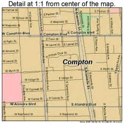 compton california map 0615044