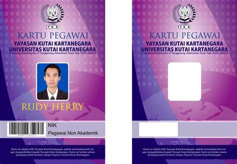 design id card terbaik desain desain desain kartu mahasiswa dan kartu pegawai