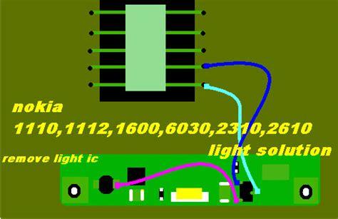 nokia rm 1110 display light nokia 1110 1110i 1112 lcd led light solution mobifix