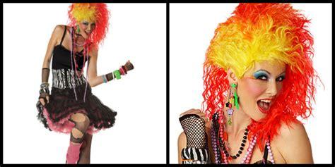 cyndi lauper wig 80s costume ideas halloween costumes blog