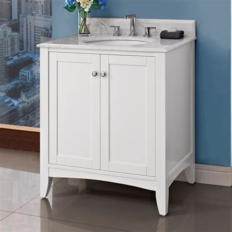 Bathroom Vanities Free Shipping Fairmont Designs Shaker Americana 30 Quot Vanity Polar White Free Shipping Modern Bathroom