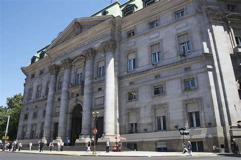la bank de economy of argentina