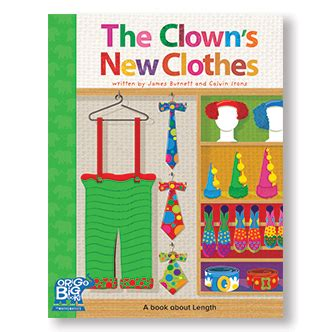 new year big book big books the clown s new clothes year f origo education