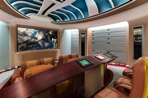 Ohio State Bedroom Decor Geek Dream Mansion For Sale With Star Trek Theater And