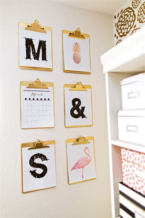 watercolors home and office decor on pinterest the classy clutter craft studio reveal classy clutter