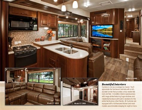 Kitchen Cabinets Plans 2014 heartland cyclone toy hauler