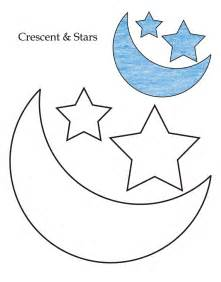 printable coloring pages gt star crescent gt 74659 star crescent coloring pages 7