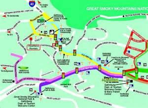 Gatlinburg Tennessee Map by Cabin Rentals Gatlinburg Pigeon Forge Heartland