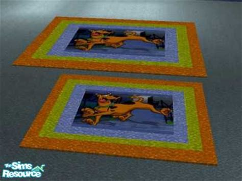 scooby doo rug ead425 s scooby doo bedroom rug set