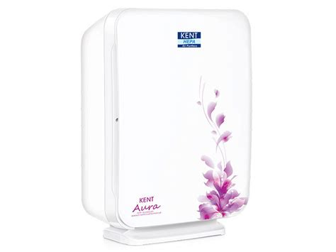 kent aura hepa filter air purifier with air ionizer for rooms