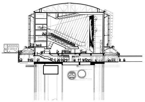 Planetarium Floor Plan bfi imax london south bank cinema e architect