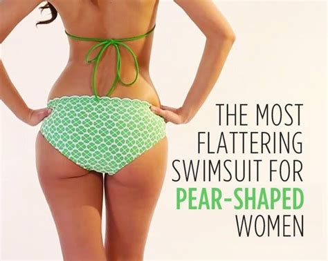 Items To Flatter A Pear Shape by The Most Flattering Swimsuit For Pear Shaped Shape