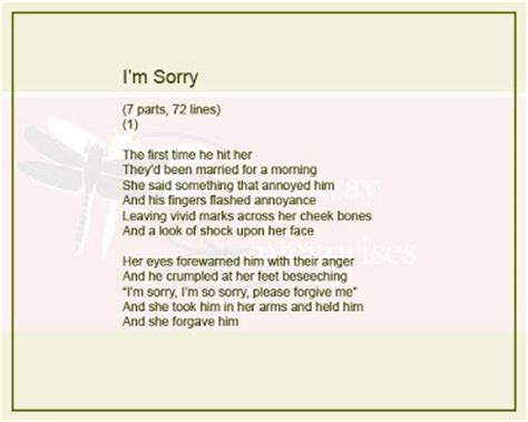 Apology Letter For Quotation Sorry Sms Sorry Quotes Poems Letmeget
