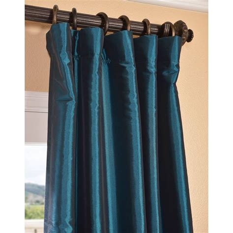 silk taffeta curtains beautiful faux silk taffeta curtains home decorations
