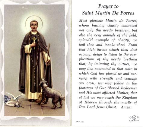 prayer to st prayer to st martin de porres prayers