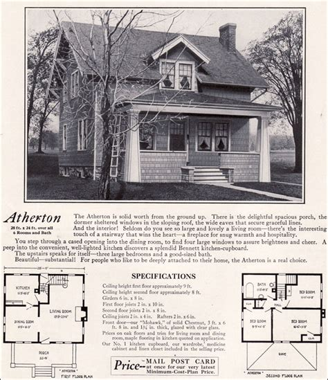 1920s house plans numberedtype