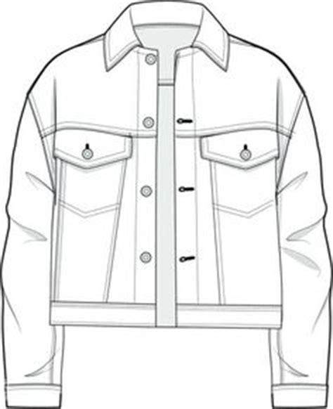 basic jacket layout pin by ilenia alesse on flat technical drawings