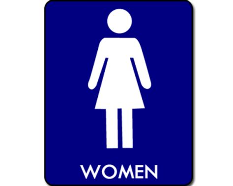 female comfort room signage womens bathroom symbol clipart best