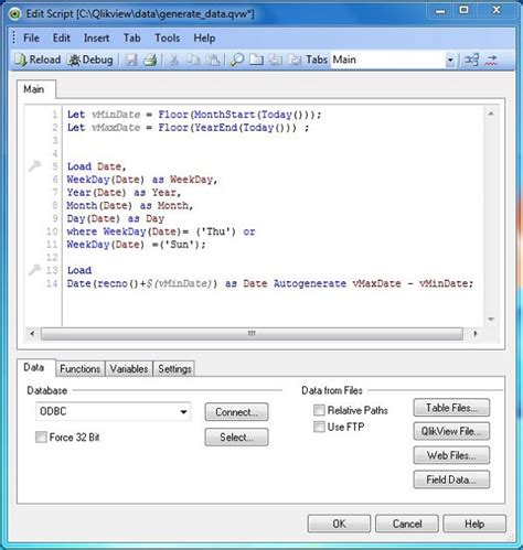 qlikview functions tutorial qlikview generating data