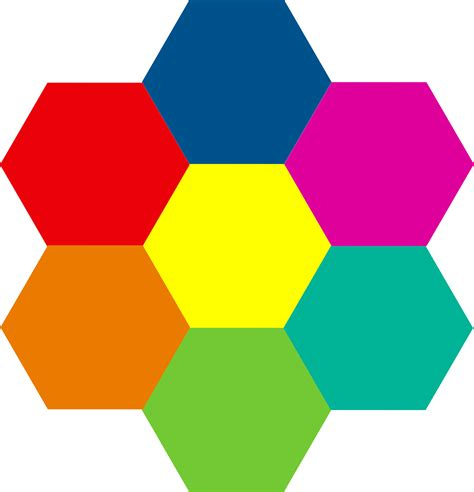 Color For Office by Clipart Hexagonal Aiflowers