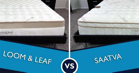 Mattress Reviews Ratings by Loom And Leaf Vs Saatva Mattress Review Sleepopolis