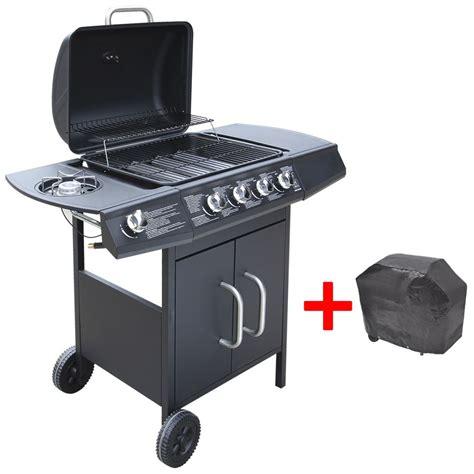 grill da giardino in acciaio inox gas grill barbecue grill carrello barbecue